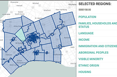 Interactive Census Map