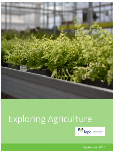 Exploring Agriculture