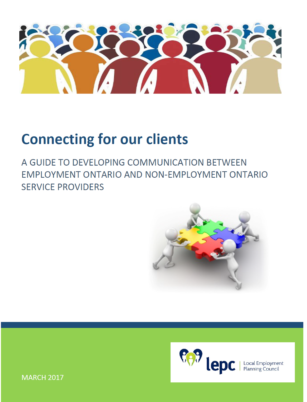 Connecting for our Clients