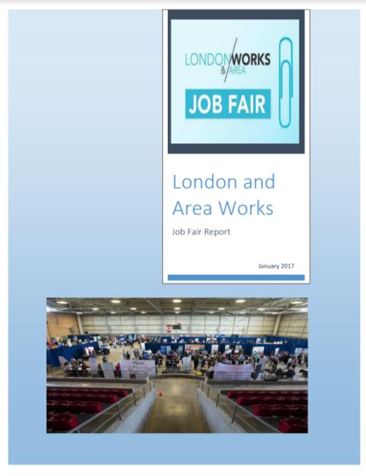 Report on the October 2016 Job Fair