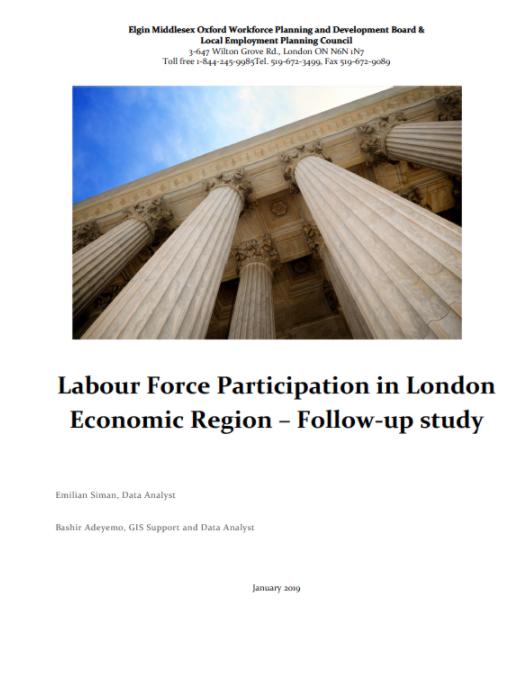 Labour Force Participation In London ER