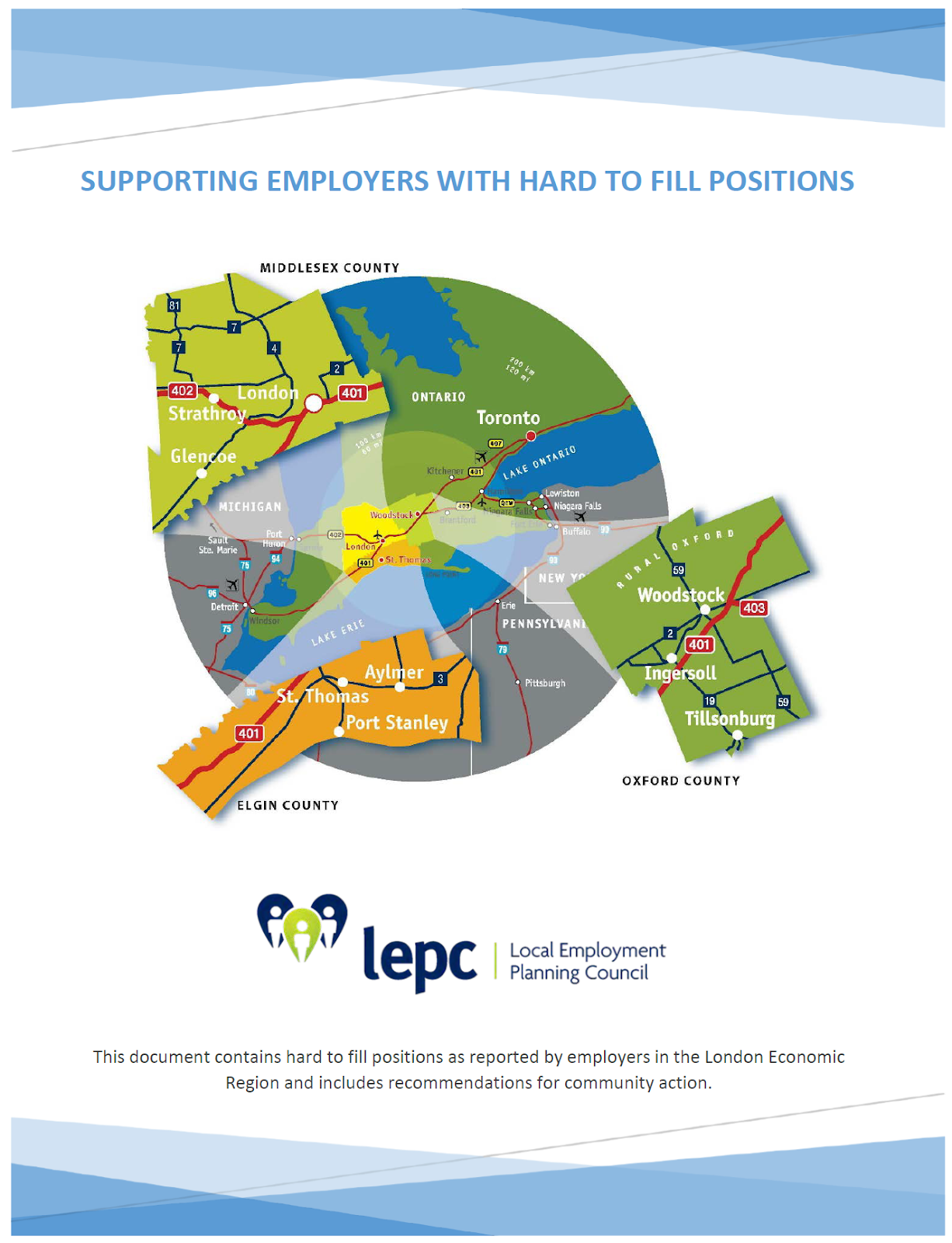 Supporting Employers with Hard to Fill Positions
