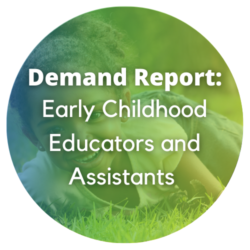 Demand Report: Early Childhood Educators and Assistants